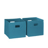 Book Nook Kids Cubby Storage Cabinet with Bookrack - Part - Bins