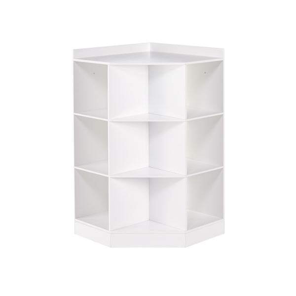 RiverRidge Home Kids Corner Cabinet in White 02-144