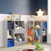 RiverRidge Home Kids Gray Kids Toy Storage Furniture