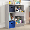 Kids Toy Organizer with Cubbies & Veggie Bins
