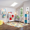Book Nook Kids Cubby Storage Cabinet with Bookrack