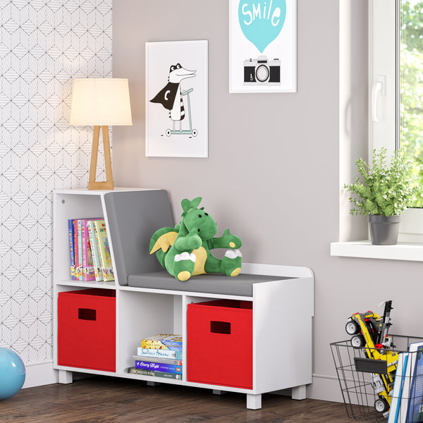 Book Nook Kids Storage Bench With Cubbies Riverridge 174 Home