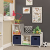 Book Nook Kids Storage Bench with Cubbies