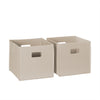 Two-Piece Folding Storage Bins