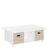 Kids 6 Cubby Storage Activity Table
