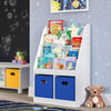 Kids Bookrack with Two Cubbies