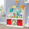 Kids Bookrack with Three Cubbies