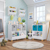 "Kids Catch-All Multi-Cubby 24"" Toy Organizer"