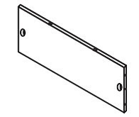 Ellsworth Two Door Wall Cabinet - Part 10 - Lower Back Board