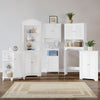 Ellsworth Floor Cabinet with Side Shelves