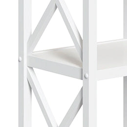 X-Frame-Wall Shelf with Hooks - Part F - Plastic Cap