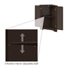 Ellsworth 3-Shelf Corner Cabinet