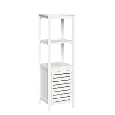 Bayfield Linen Tower with Open Shelves