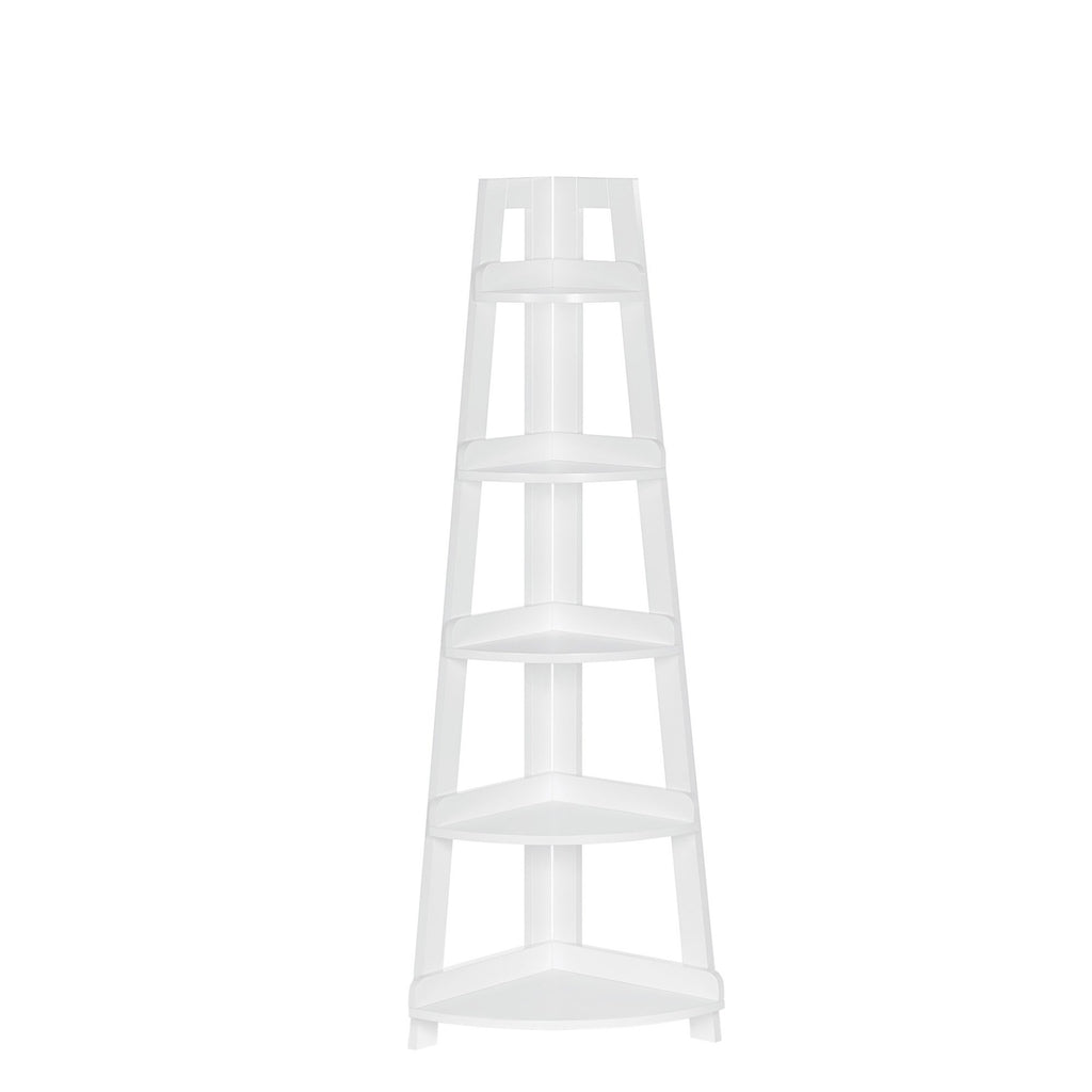 Amery 5-Tier Corner Ladder Shelf