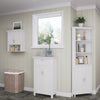 Somerset Tall Two-Door Corner Cabinet
