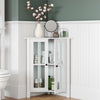 Danbury Two-Door Corner Cabinet