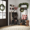 Afton Metal Frame Hall Tree