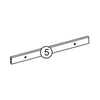 Somerset Two-Door Wall Cabinet - Part 05 - Cross Bar