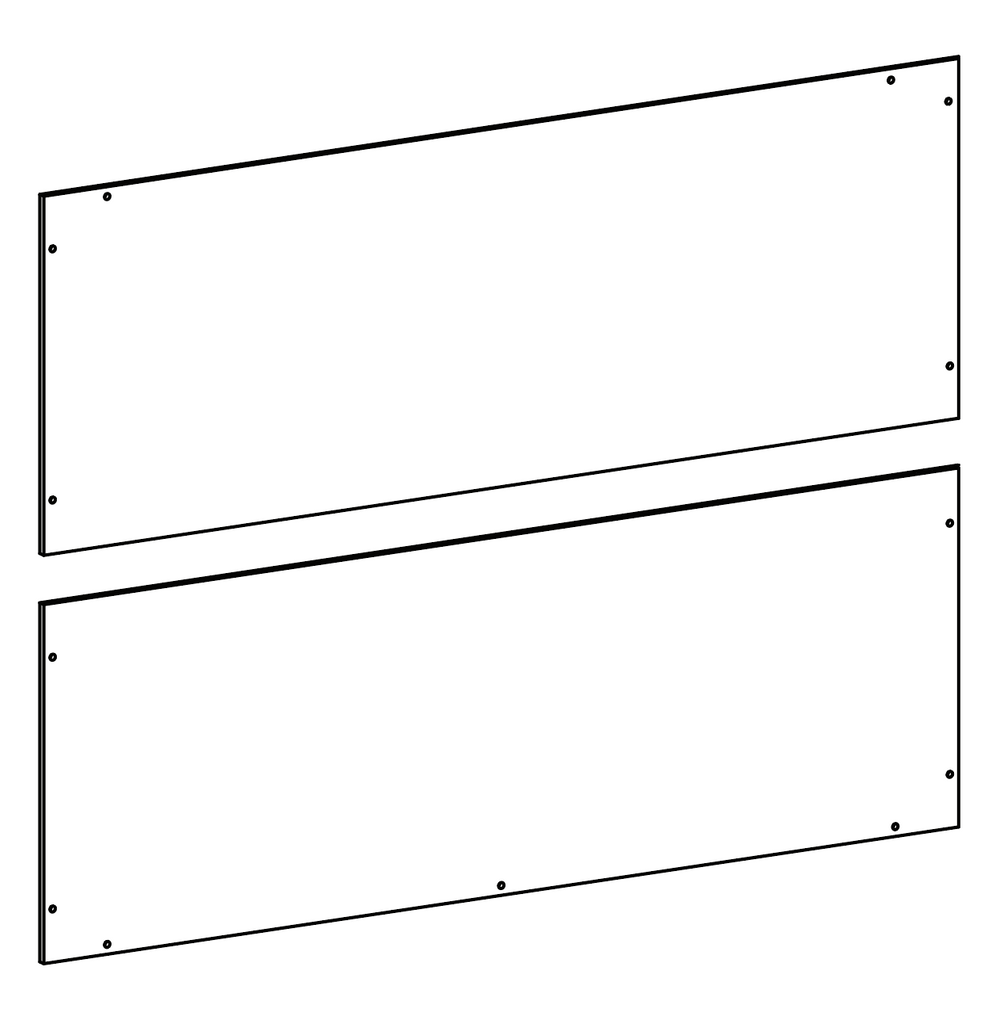 Bayfield Two-Door Wall Cabinet - Part 09 - Back Board