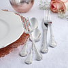 46-Piece Personalized Flatware - Bouquet Pattern