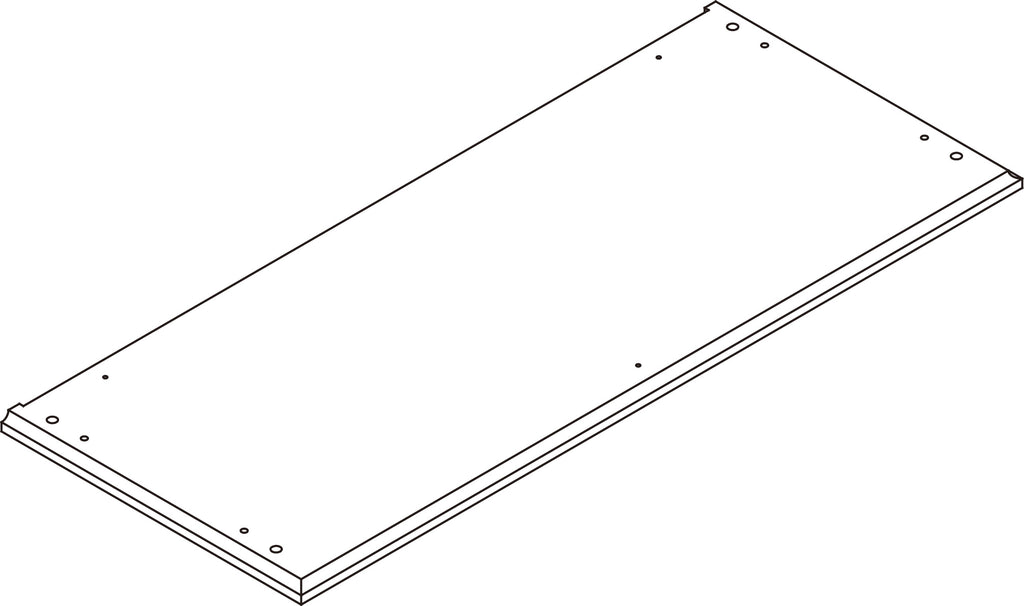 Ellsworth Two-Door Floor Cabinet - Part 01 - Top Board