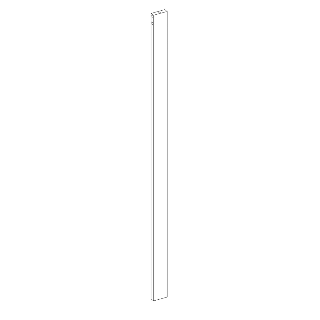 Madison Tall Corner Cabinet - Part 08 - Upper Right Support Bar