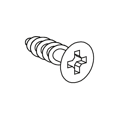 Ashland Tall Cabinet - Part D - Wood Screw 3x10mm