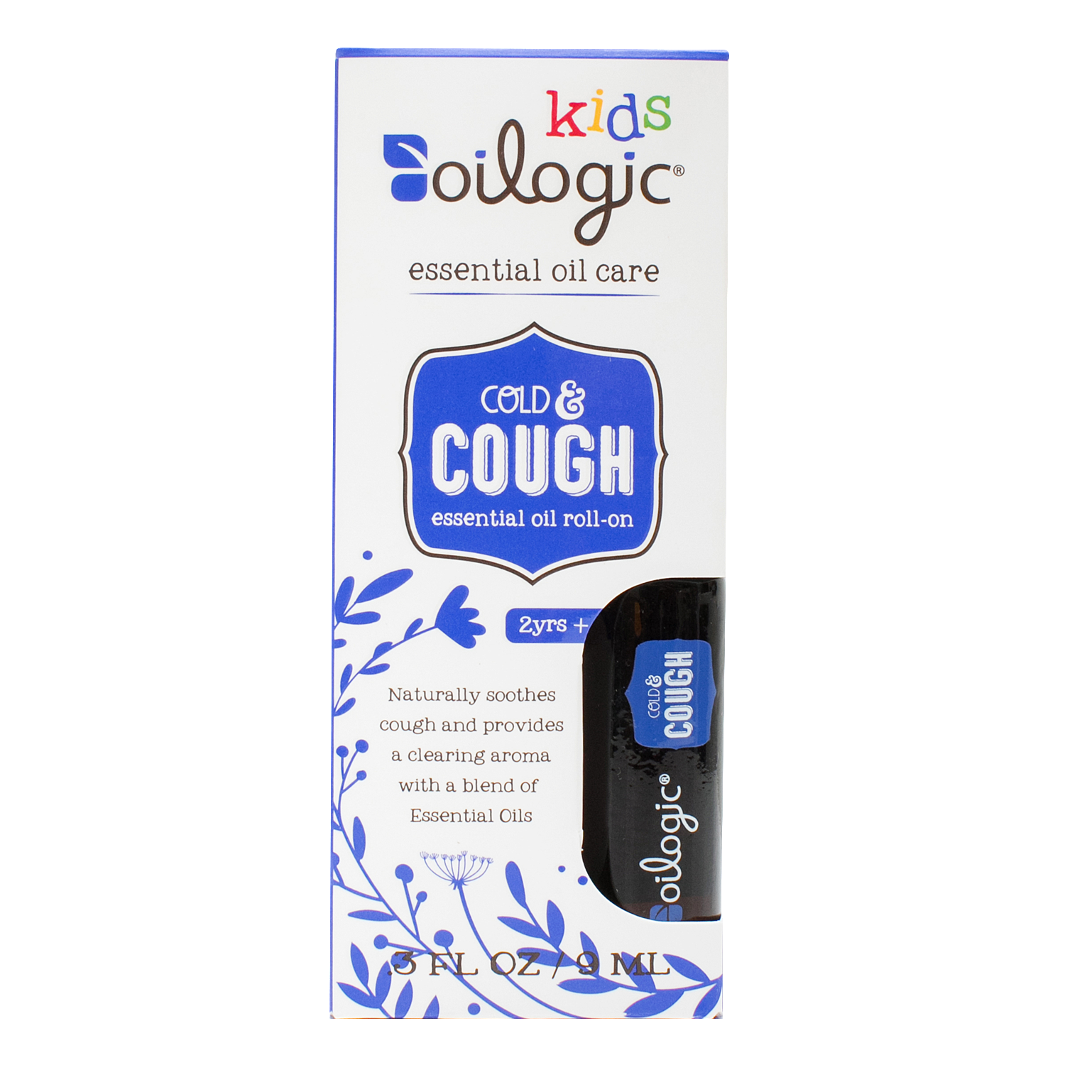 Essential Oils For Cough Roll On For Kids Children Oilogic