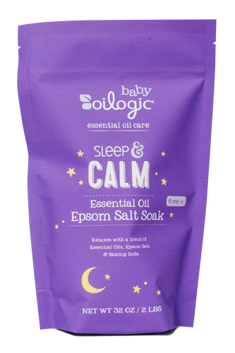 Sleep & Calm Essential Oil Epsom Salt Soak
