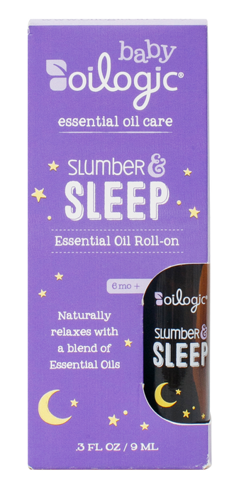 The best essential oils for babies! Oilogic Slumber & Sleep.