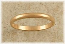 Toe Ring: Classic Gold Band