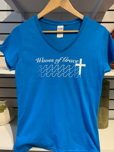 Waves of Grace Womens Tee
