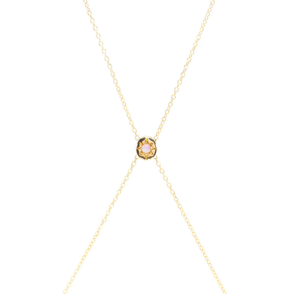 Sunburst Opal Body Chain