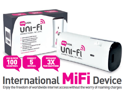 Unifi Front Page