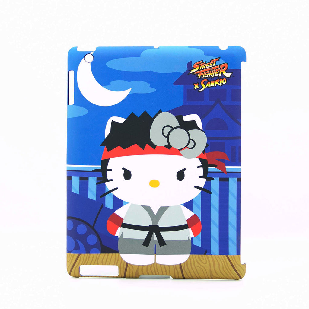 Hello Kitty Street Fighter Ryu IPad Case