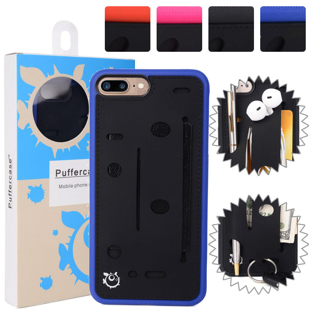 Expandable Slim TPU Wallet Card Case