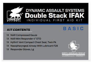 Dynamic Assault Systems Double Stacked IFAK