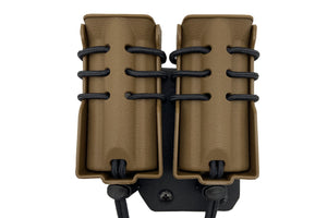 Evolution Double Pistol Pouch Offset MOLLE
