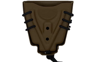 Evolution Double Universal Handcuff Holder (Attachments In Drop Down)