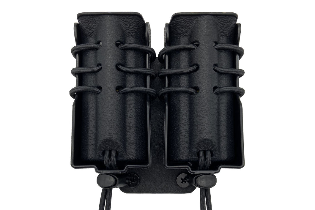 Evolution Double Pistol Magazine Pouch MOLLE Mount