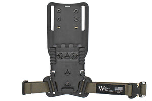 "Modified UBL Drop Leg Strap with QLS Receiver 1"" Leg Strap"