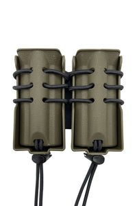 Evolution Double Pistol Magazine Pouch Belt Mount
