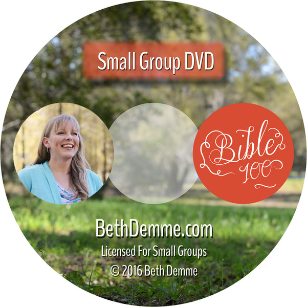 Bible 100 Small Group Study DVD