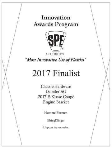 15 Chassis/Hardware: Engine Bracket - 2017 Finalist