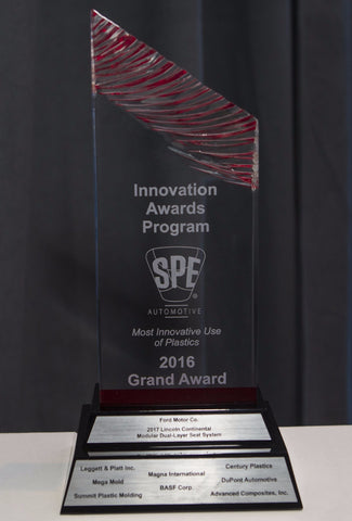 2016 Grand Award:  Modular Dual-Layer Seat System