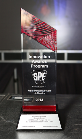 58 Chassis/Hardware Co-ex Thermoplastic Coolant Tube - Category Winner