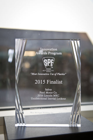 55 Safety Uni-Directional Inertial Lockout - 2015 Finalist