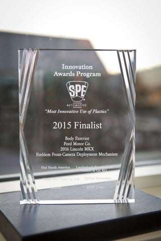 8 Body Exterior Emblem Front Camera Deployment Mechanism - 2015 Finalist