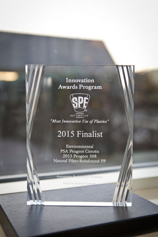23 Environmental Natural Fiber Reinforced PP - 2015 Finalist