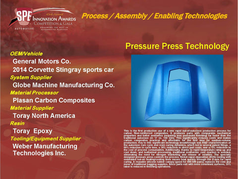 PA - Pressure Press Technology - Display Plaque 9x12